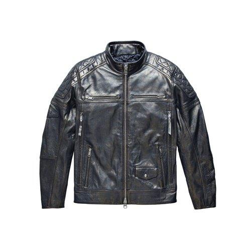 Men's Black Benson Leather Jacket