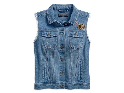 5b124716fc 01- Gilet Jeans Donna