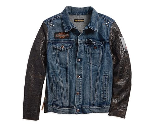 new product d80e0 15641 01- Giacca Jeans Uomo | Harley Davidson Parma | Harley Davidson Parma