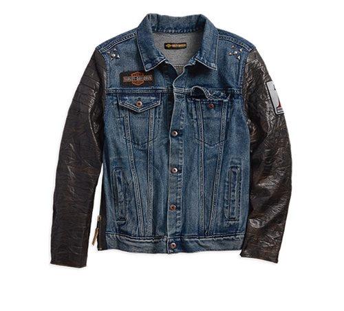 new product 62066 0dda4 01- Giacca Jeans Uomo | Harley Davidson Parma | Harley Davidson Parma